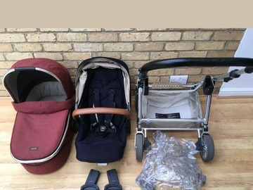 Selling: Mamas and papas Urbo2 travel system navy blue