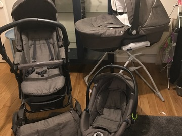 Selling: Pushchair, pram and car seat