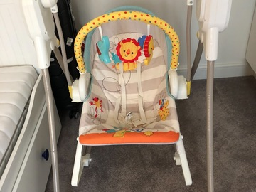 Giving away: Fisher price swing for baby