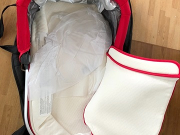 Selling: Uppababy Danny red vista buggy