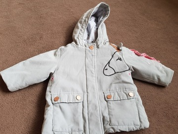Selling: Baby girl coat