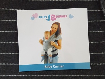 Selling: Juicy Bumbles Baby Carrier