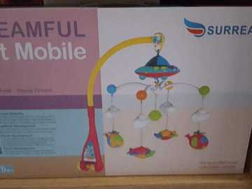 Selling: Surreal Dreamful Cot Mobile