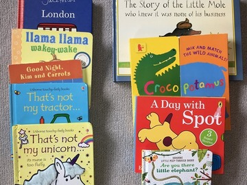 Selling: Baby books bundle