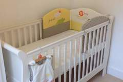 Selling: Mamas and papas white cot bed with mattress