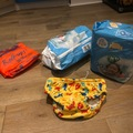 Selling: Swimming nappies, Zoggs armbands, transition swimming shorts