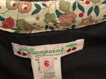 Selling: Bonpoint dress fits 4 years old